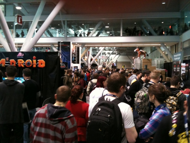 Games, gamers, and more gamers at PAX East...