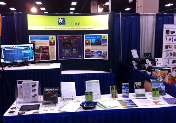TERC's booth at ISTE 2013